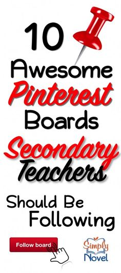 10 Top Secondary Pinterest Boards!