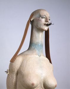 Annely Juda Fine Art is based in London and represents contemporary British, European and International artists. Mixed Media Sculpture, Wood Sculpture, Ceramic Sculpture Figurative, Dark Circus, Contemporary Sculpture, Ceramic Art, Art Reference, Sculpting, Creepy