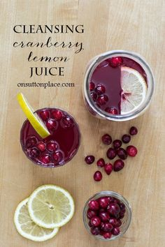 Reduce Water Retention Cleansing Cranberry Lemon Juice Drink - Powered by - All natural and easy to make drink that cleanses the kidneys and reduces water retention. Tastes great too! Healthy Food Choices, Healthy Foods To Eat, Healthy Tips, Healthy Dinner Recipes, Healthy Eating, Healthy Drinks, Drink Recipes, Pure Cranberry Juice, Cranberry Juice Benefits
