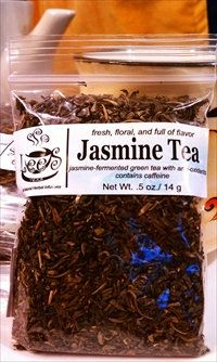 Organic Teas: Premium Fair Trade Jasmine Green Tea by LeesTeas, $8.00