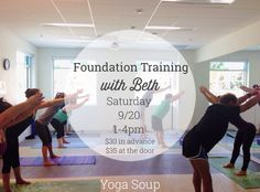 Foundation Training class with YogaSoup coming up soon!  We would LOVE for you to join if you live in the #SantaBarbara area!  For more information, check out http://bethalexanderfitness.com  #FoundationTraining #workout #yogasoup #yoga #workout #fitness #healthy #health #healthyliving #bethalexanderfitness