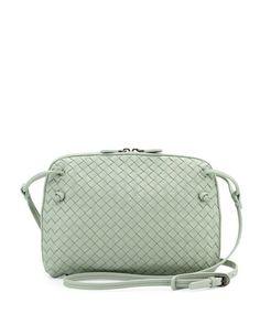 14215282d0a9 Bottega Veneta Small Pillow Woven Crossbody Bag