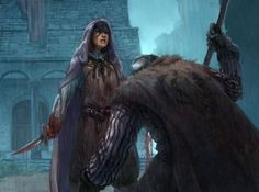 Valar Morghulis - Arya Stark slit the throat of the guard at Harrenhal's postern gate, she whispers Valar Morghulis as he dies