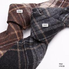stripe wool stylish necktie  HT6129-2