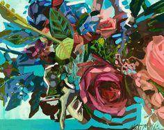 BLUE FLORAL Kate Mullin