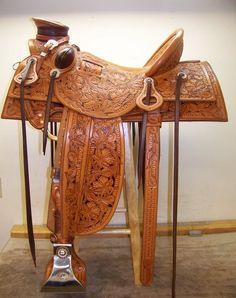 Jeff Hanson Custom Saddles