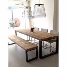 mesa cocina madera