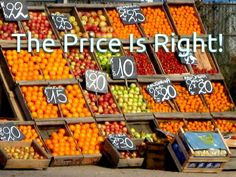 The Price Is Right! | LinkedIn 16/7/14