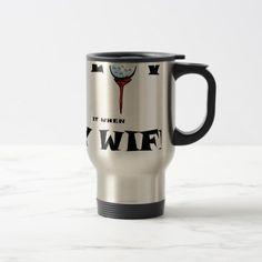 golf love travel mug