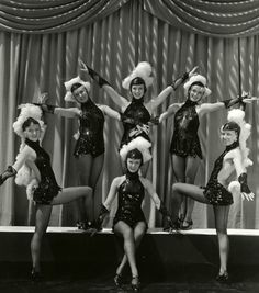 The Fachonette Dancers in Busby Berkeley's Turn Off the Moon c.1937