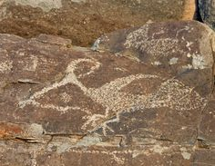 Thunderbird and Eagle Rule the Skies… Three Rivers Petroglyph Site ...