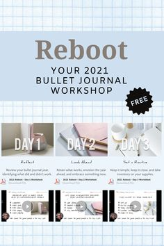 Setting up your 2021 bullet journal? Get better results by creating a clear vision and solid routine before you start. #bulletjournal #2021bujo