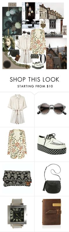 City. 1974 by mariettamyan on Polyvore featuring мода, Alice + Olivia, 3.1 Phillip Lim, T.U.K., Nine West, Billabong, TOKYObay and INDIE HAIR