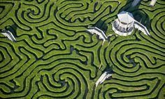 Longleast Hedge Maze, um dos maiores labirintos do mundo
