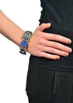 Mystic Ocean Statement Bracelet #fashion #style #chunkybracelet #blue #statementbracelet - 15,90 € @happinessboutique.com