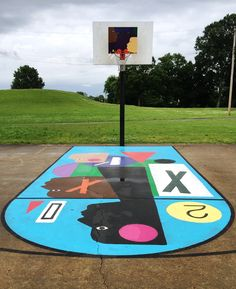 Project Backboard began in 2014 when Daniel Peterson, a former college basketball player and employee of the Memphis Grizzlies, noticed the neglected state of several basketball courts scattered around the city. To revive these spaces, Peterson began to refurbish the courts with small improvements—f