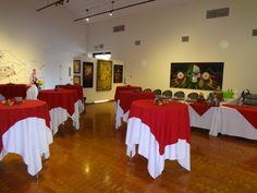 Galeria  Reception style set up. Maximum occupancy 75 guests
