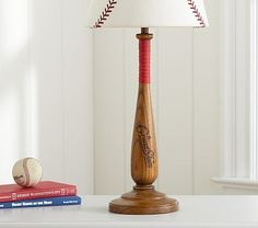Shop baseball from Pottery Barn Kids. Find expertly crafted kids and baby furniture, decor and accessories, including a variety of baseball. Baseball Lamp, Baseball Room Decor, Pottery Barn Nursery, Pottery Barn Kids, Mother Day Wishes, Kids Decor, Decor Ideas, Gift Ideas, Cool Rooms