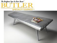 Butler Metalworks Coffee Table Model