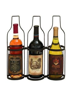 Wine Racks - Deco 79 Wine Label 3 Bottle Wine Rack Holder >>> Read more reviews of the product by visiting the link on the image.