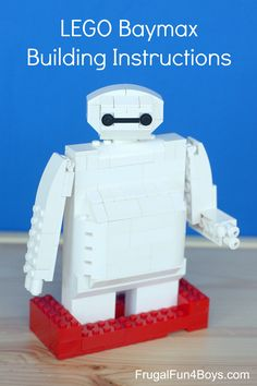 LEGO Baymax Building Instructions - Ha ha, he's so cute!