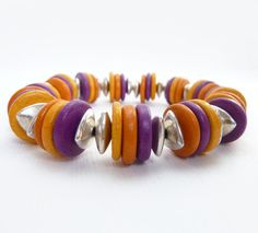 Hot colours by Lee of Rock Stone Treasures on Etsy