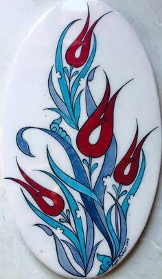 Mavicini China Painting, Ceramic Painting, Fabric Painting, Stone Painting, Turkish Design, Turkish Art, Turkish Tiles, Islamic Tiles, Islamic Art