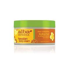 Alba Botanica Kukui Nut Body Cream, Bottle Pack of 2 Best Body Cream, Best Lotion, Body Gel, First Aid Beauty, Body Care, Moisturizer, Hawaiian, Bottle, Deep