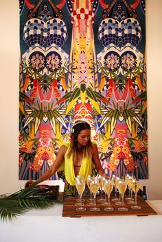 CAMILLA for Designer Rugs Launch