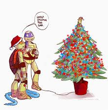 Merry christmas to all by shesu94 on deviantart ninja turtle christmas tmnt sciox Image collections