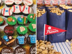 All-American Baseball First Birthday Party // Hostess with the Mostess®