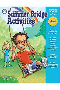 Summer Bridge Activities Book Gr 1-2 by Carson Dellosa $8.05