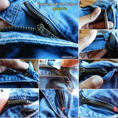 How to Fix a Zipper That is Broken