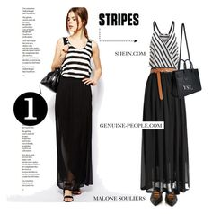 """""""Genuine-People Maxi Skirt"""" by tracey-mason ❤ liked on Polyvore featuring Malone Souliers and Yves Saint Laurent"""