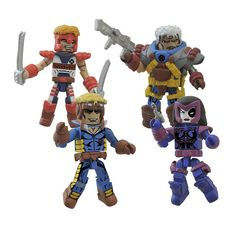 Other Action Figures Marvel Minimates Series 72 Complete Set Numerous In Variety
