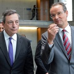 European Central Bank President meets with the Europe Committee at the Bundestag Parliament