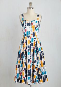 Brushstroke With Destiny Dress