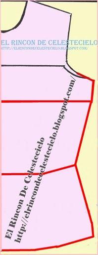 Patrón básico delantero de blusa o base para vestido sin pinzas Cool Places To Visit, Inspire Me, Travel Inspiration, Sewing Patterns, About Me Blog, Base, Couture, Templates, Sewing Lessons