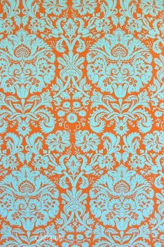 Amy Butler Fabric Acanthus In Teal From Belle My New