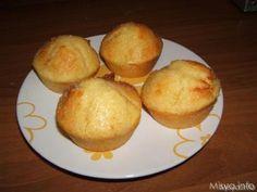 Muffin di ricotta glassati al limone