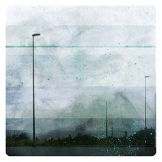 Reverbere (Nature Photography - Fine Art Print - Street Lamp - Road  - City - Urban - Lines - Painting - Blue) on Etsy, $38.95 AUD