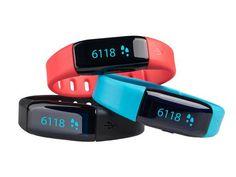 Medisana 79790 ViFit MX3 Activity Tracker, €29,95 i.p.v. €79,90 bij iBood. Toont alleen de stappen, niet de tijd.