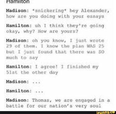 haMILTON WROTE THE OTHER 51