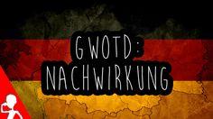 Today's German word of the day is: die Nachwirkung  Did you ever experience really strong Nachwirkungen? Habt ihr jemals wirklich starke Nachwirkungen erlebt?