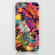 Floral and Birds II iPhone & iPod Case