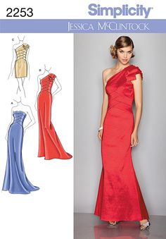 Live it . Love it . Make it.: Make it: Red Carpet Worthy Dress Patterns