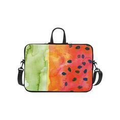 "Abstract Watermelon Laptop Handbags 10"""