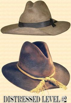 Men s Hat - Hat Antiquing or Distressing. Felt Cowboy ... eb5512c24b7c