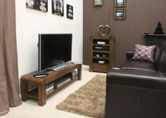Hadleigh Walnut Low Television Table/Cabinet