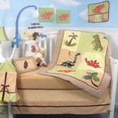 Found it at Wayfair - Dinosaur Story Baby 14 Piece Crib Nursery Bedding Set